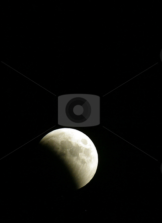 Solar Eclipse Moon stock photo, November 15, 2004:  A solar eclipse moon could be seen over Bremerton, Washington. A solar eclipse occurs when the Moon passes between the Sun and the Earth so that the Sun is wholly or partially obscured by Jesse Beals