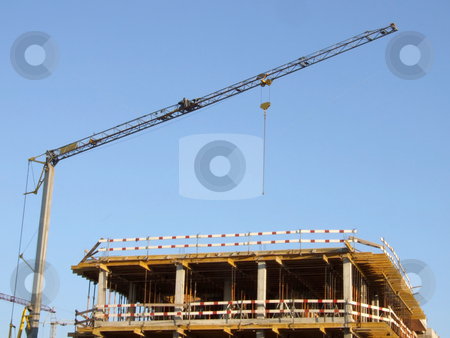 Construction site stock photo, Construction site by Paulo Resende