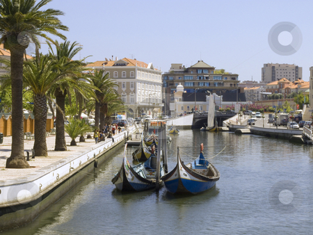 Photo made in Portugal Aveiro stock photo, Detail from one water canal in Portugal Aveiro by Paulo Resende