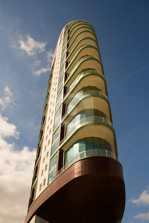Apartment tower stock photo, Apartment tower by Paulo Resende