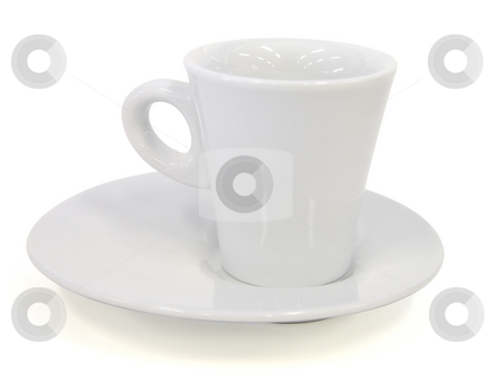 Porcelain cup isolated on white - Path inclued stock photo, Porcelain cup isolated on white - Path inclued by Paulo Resende