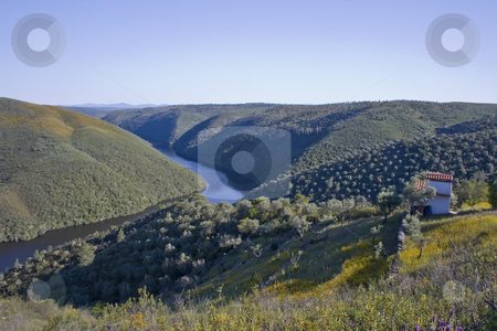 Idyllic Valley  stock photo, Landscape in Alentejo, Portugal by Paulo Resende