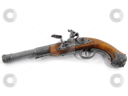 Old pistol stock photo, Old vintage gun by Paulo Resende