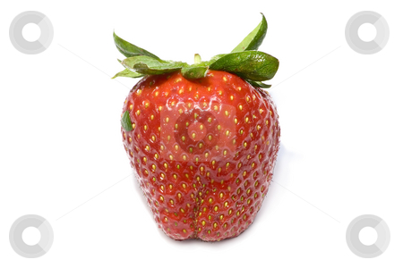 Strawberrie stock photo, Isolated fruit - strawberrie by Paulo Resende
