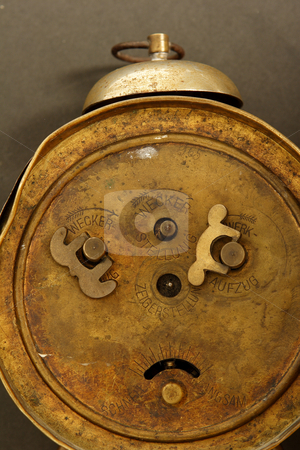Old clock stock photo, Old broken clock by Mark Yuill