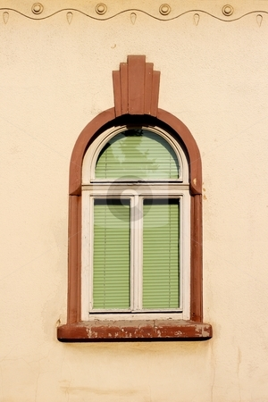 Window stock photo, Old window by Mark Yuill