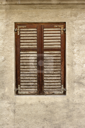 Old window stock photo, Old window in house by Mark Yuill
