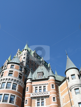 Chateau frontenac, quebec, canada stock photo, Chateau frontenac, quebec, canada by Mbudley Mbudley