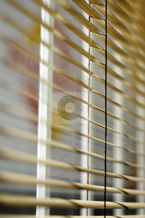 Ventetian blind stock photo, Venetian blind detail by Mark Yuill