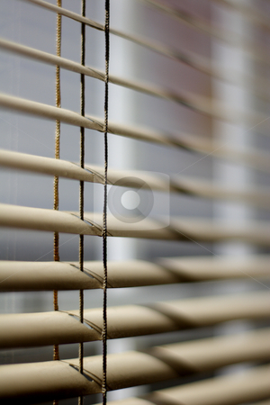 Ventetian blind stock photo, Venetian blind detail by Mark Yuill