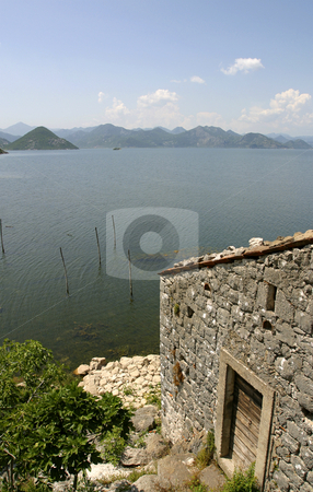 Abandoned fishing village stock photo, Abandoned fishing village in Montenegro by Mark Yuill