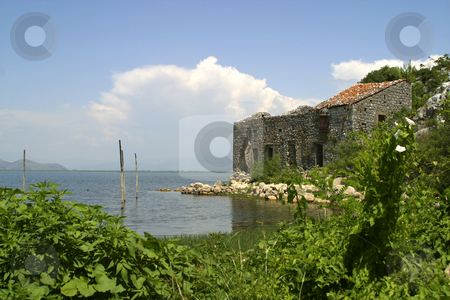 Abandoned fishing village stock photo,  by Mark Yuill