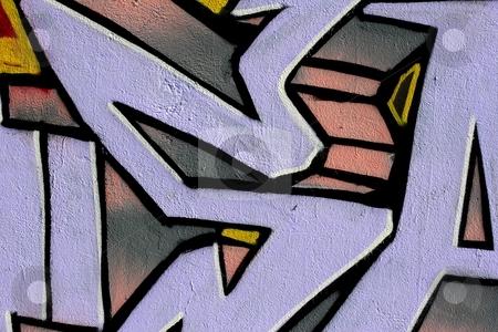 Graffiti stock photo, Abstract graffiti art by Mark Yuill