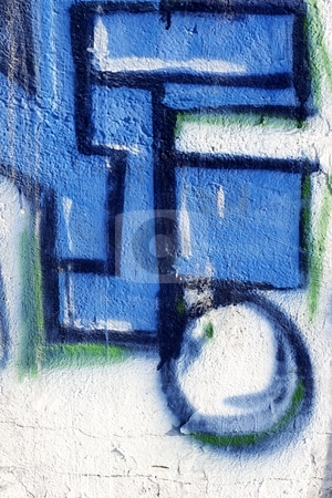 Graffiti stock photo, Abstract graffiti art by Mark Yuill
