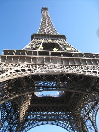 Eiffel Tower in Paris, France stock photo,  by Ritu Jethani
