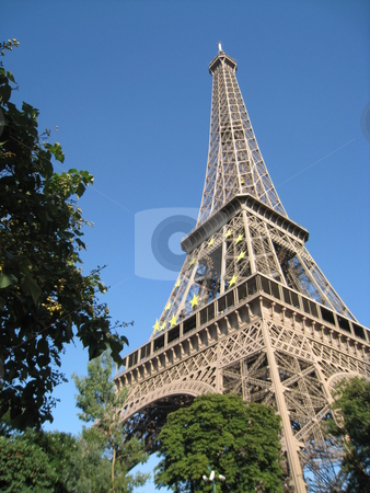 Eiffel Tower in Paris, France stock photo,  by Ritu Jethani