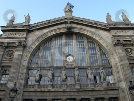 Gare Du Nord Train Station in Paris, France stock photo,  by Ritu Jethani