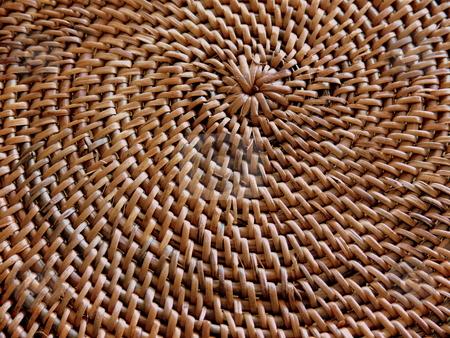 Woven Spiral stock photo, Woven Spiral Grass Matt by Martin Darley