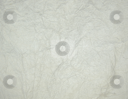 Textured paper stock photo, Textured, crumpled white paper background by Martin Darley