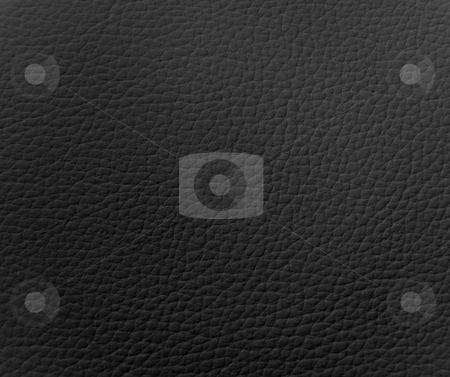 Black Leather Texture stock photo, Black Leather Texture by Martin Darley