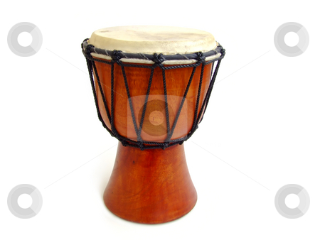 Drum stock photo, African drum by Paulo Resende