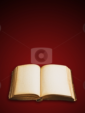 Vintage book isolated. stock photo, Vintage book isolated, clipping path excludes the shadow. by Pablo Caridad