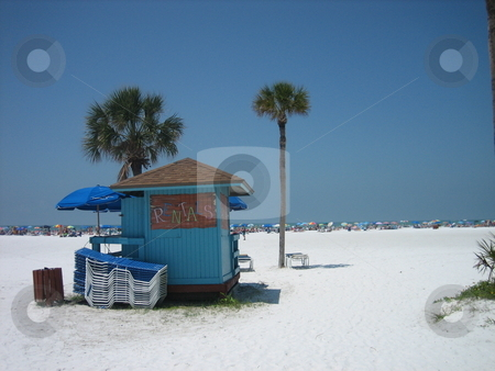 Siesta Key Beach, Sarasota, Florida stock photo, Siesta Key Beach, Sarasota, Florida by Tom Falco