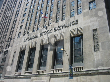 American Stock Exchange stock photo, American Stock Exchange, NY by Tom Falco