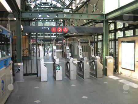 Subway station stock photo, Subway station by Tom Falco