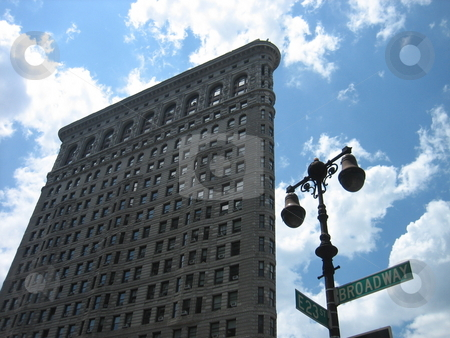 Flatiron Building in New York City stock photo, Flatiron building in New York City by Tom Falco