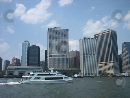 Downtown New York stock photo, Downtown New York by Tom Falco