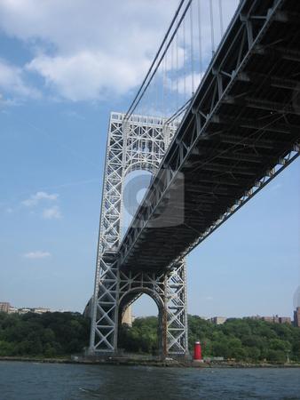 George Washington Bridge stock photo, George Washington Bridge by Tom Falco