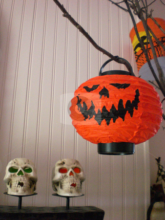 Halloween menagerie interior 2 stock photo,  by J.G. Byers