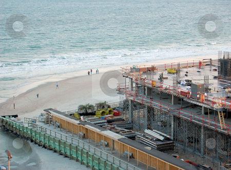 Beachfront construction stock photo,  by Liane Harrold