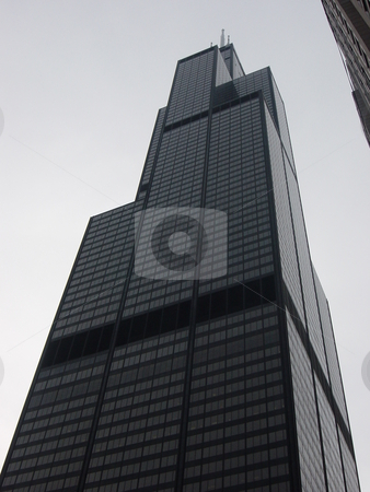 Sears Tower in Chicago stock photo,  by Ritu Jethani