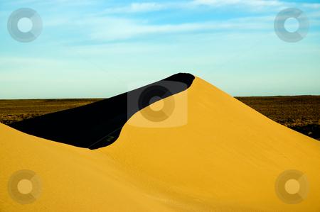Sand dunes in Peninsula Valdes, Patagonia, southern Argentina. stock photo, Sand dunes in Peninsula Valdes, Patagonia, southern Argentina. by Pablo Caridad