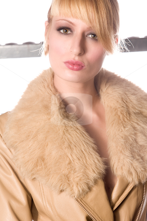 Portrait  stock photo, Portrait of a beautiful blond girl by Frenk and Danielle Kaufmann
