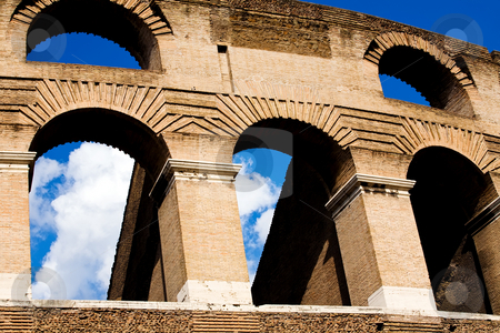 Colosseum stock photo, Colosseum, greatest amphitheatre in Rome, Italy by Vitaly Sokolovskiy