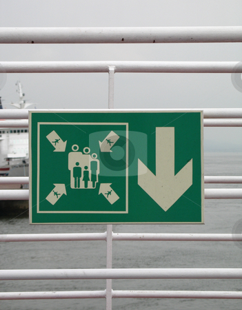 Passenger area sign stock photo, Passenger area sign by Mbudley Mbudley