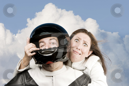 Motorcycle ride stock photo,  by Scott Griessel