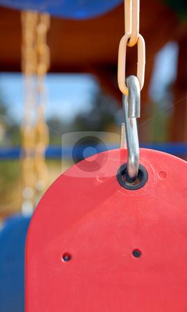 Swing Set stock photo, Children's Swing Set by Brian Shephard