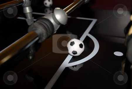 Foosball Table stock photo, Foosball Table by Brian Shephard