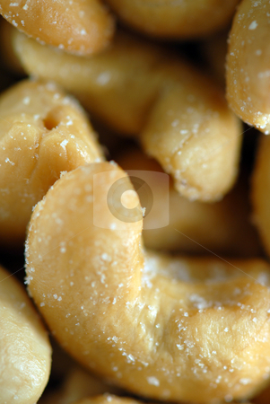 Nuts stock photo, Nuts / Cashews by Brian Shephard