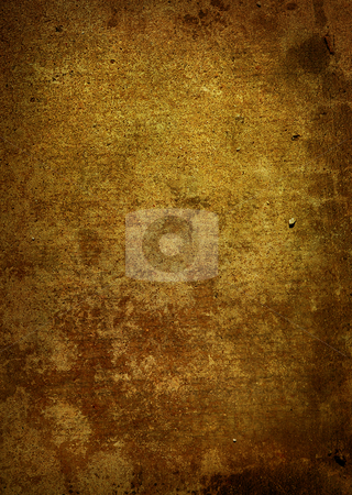 Grunge effect golden stock photo, Golden grunge effect background ideal as a backdrop by Michael Travers