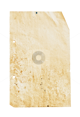 Vintage paper. stock photo, Close up shot of a blank vintage sheet of paper. by Pablo Caridad