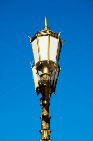 Old street light stock photo, Old street light in Buenos Aires, Argentina. by Pablo Caridad
