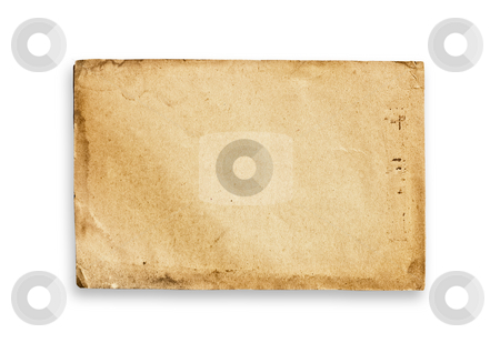Vintage paper texture, clipping path. stock photo, Vintage paper texture, isolated, with clipping path. by Pablo Caridad