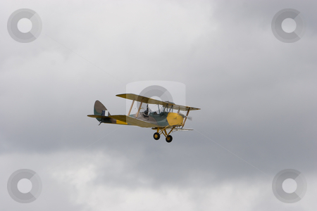 Bi-Plane stock photo, An old World War one bi-plane by Nicholas Rjabow