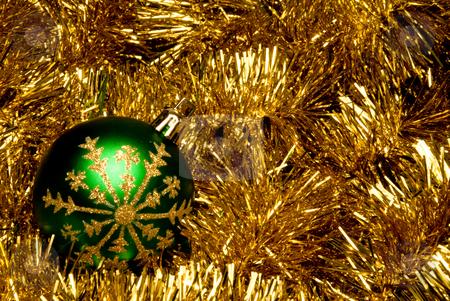 Christmas Ornament stock photo, A seasonal ornamet used during the Christmas season. by Robert Byron