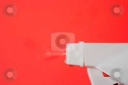 Spray Cleaner stock photo, A bottle of household chemical spray cleaner. by Robert Byron